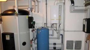 montaj centrala termica cu boiler