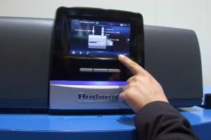 automatizare touchscreen logamatic Buderus