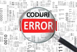 Coduri Eroare centrala termica